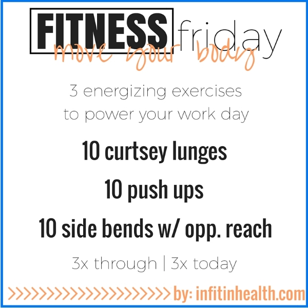 Fitness Friday 8/28: Move Your Body