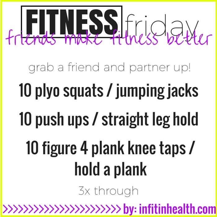Fitness Friday 9/18: Have More Fun with Partner Exercises