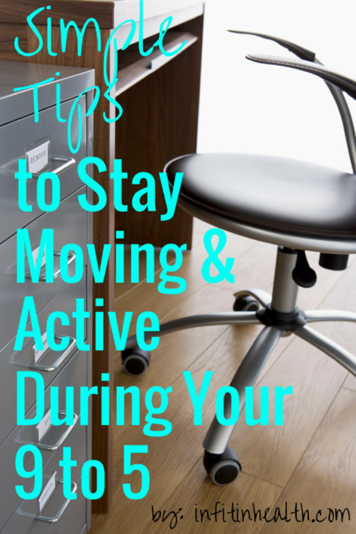 Simple Tips for Staying Active During your 9 to 5