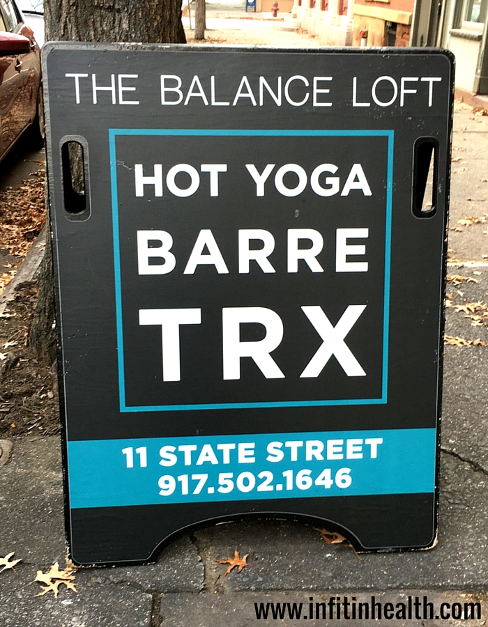 The Balance Loft signage