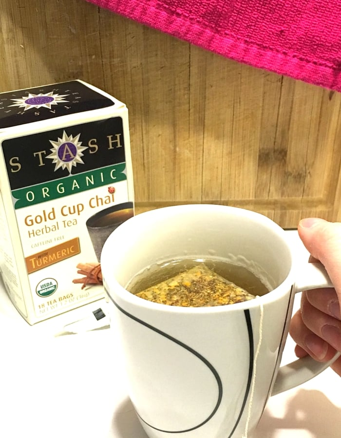 Stash Organic Chai Tea with Turmeric
