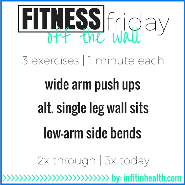 Fitness Friday 2/19: Off the Wall