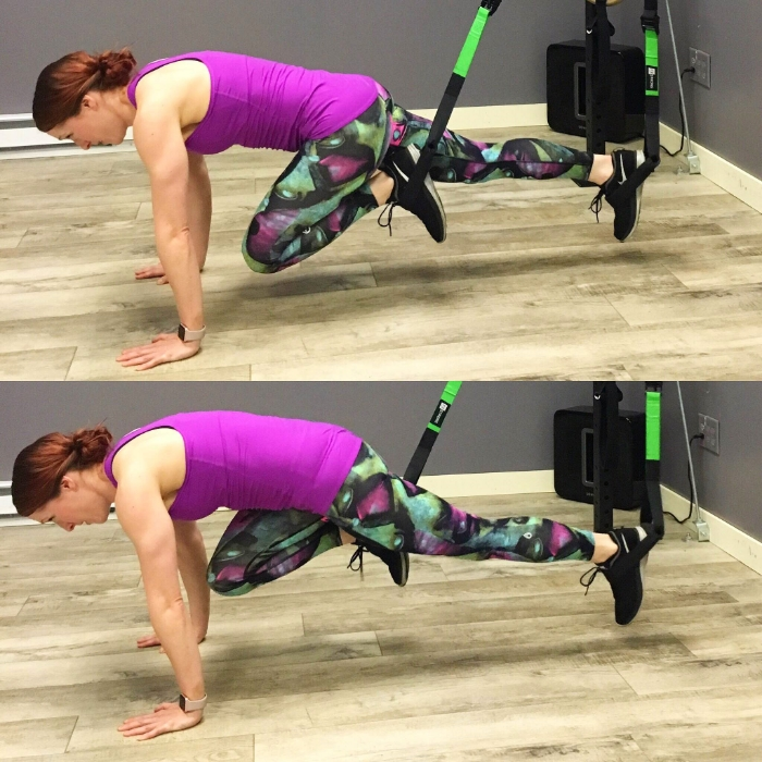 Suspension Trainer Mountain Climbers