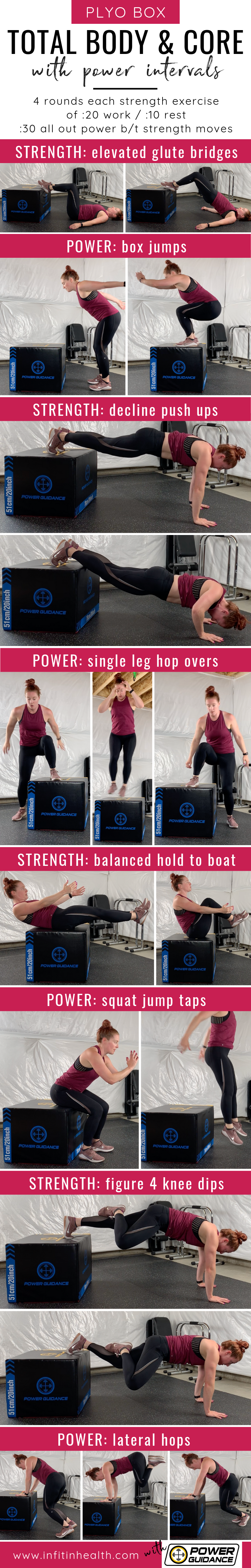 Plyo Box Total Body & Core with Power Intervals