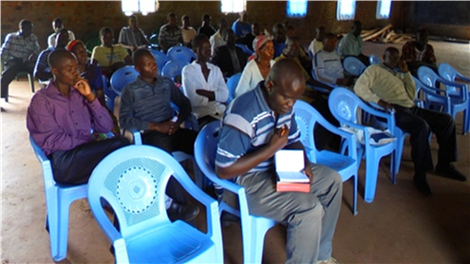 One of our pastors' fellowship trainings