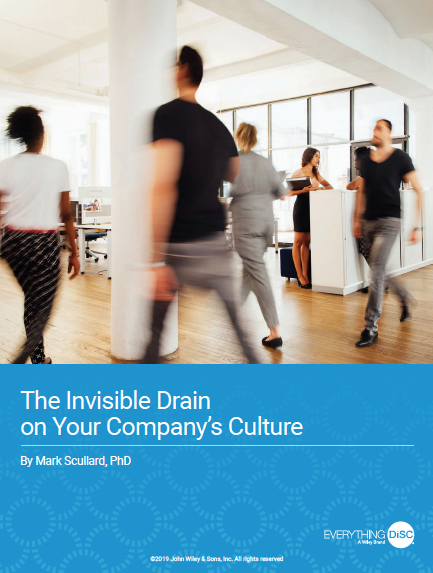 Find out the #1 issue affecting your company's culture - in this free e-book.