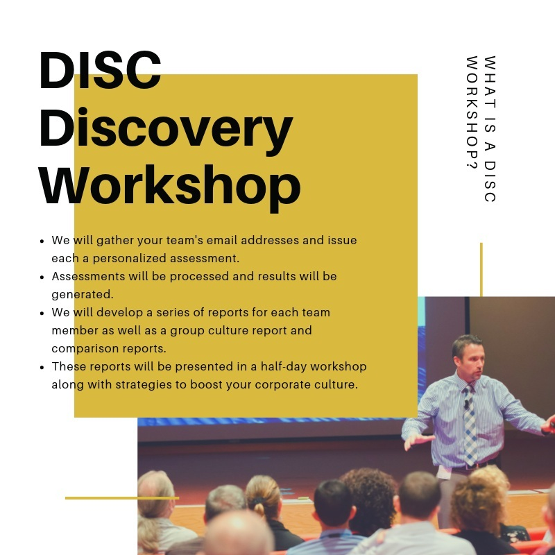 The DiSC® Process - Here are the steps we use to transform your team.