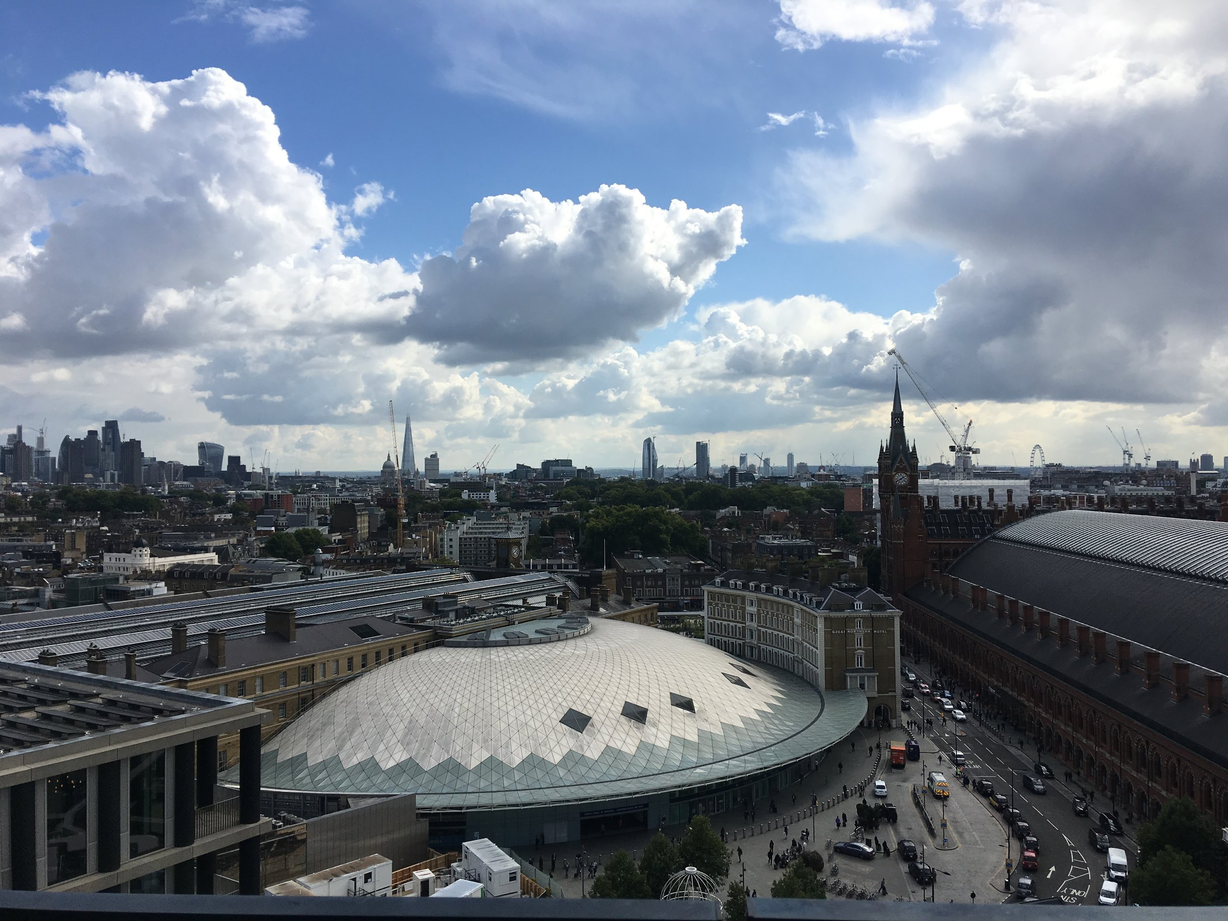 The best view in King's Cross