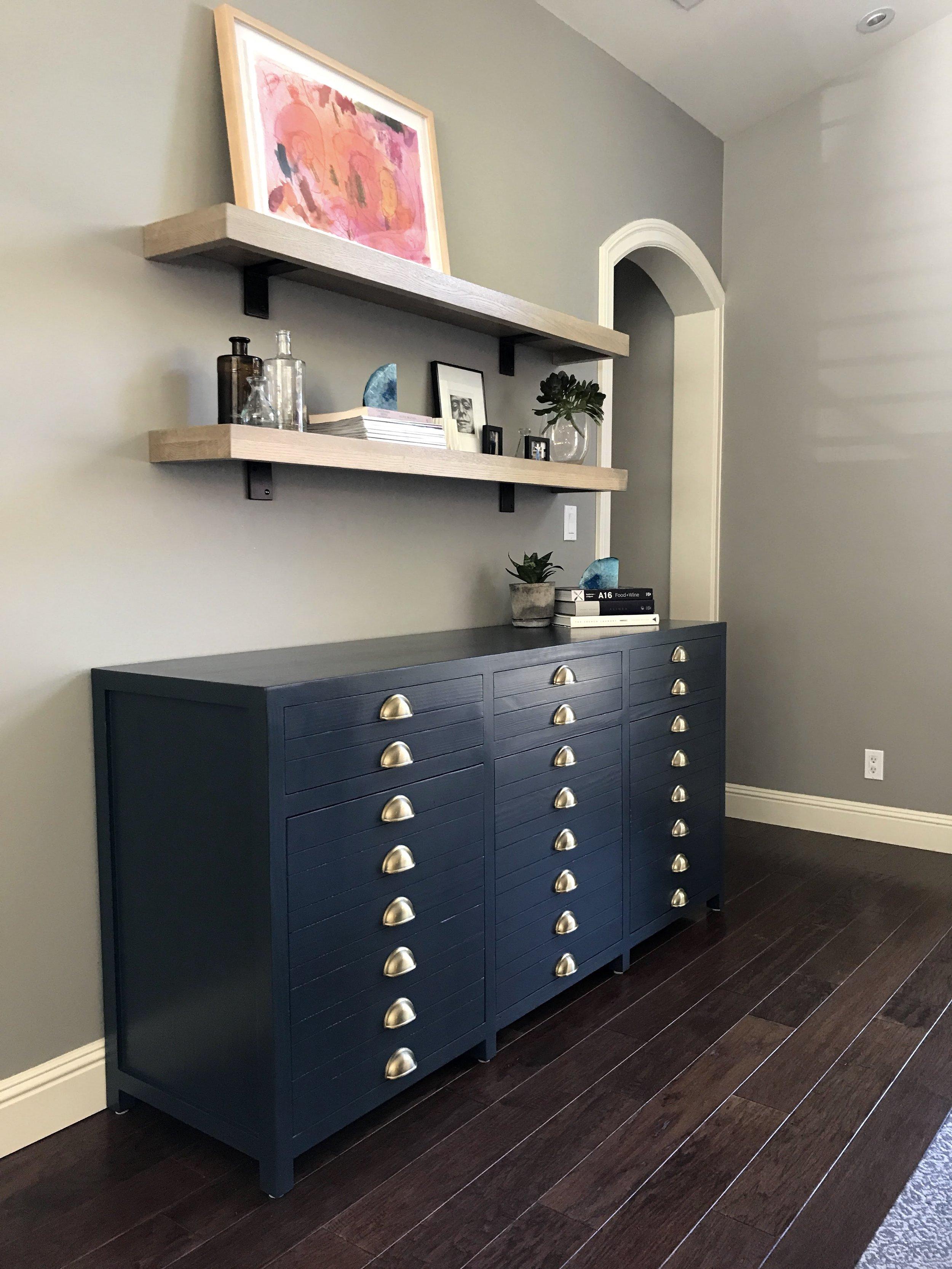Custom Printmakers Cabinet