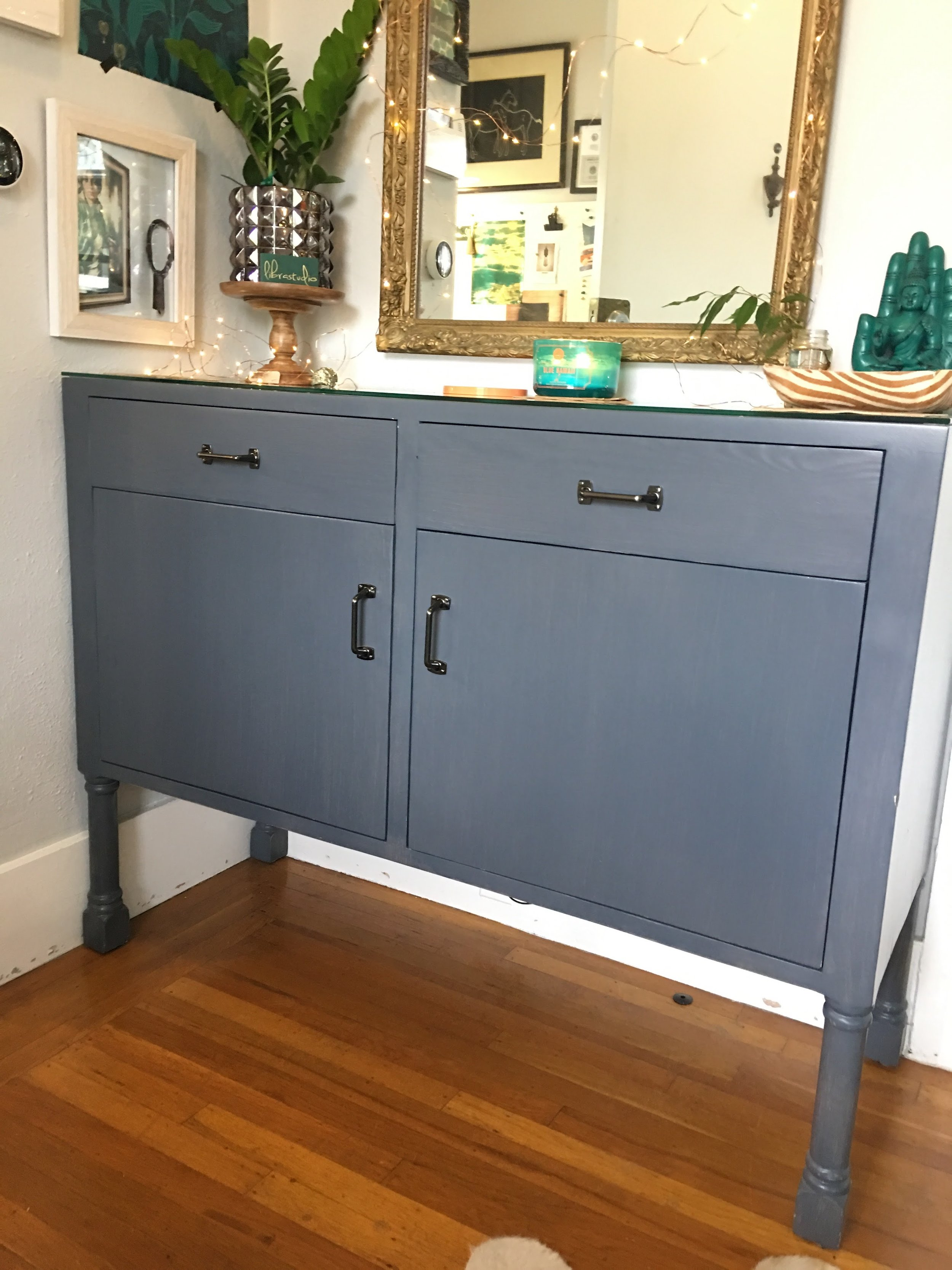 Custom Entry Cabinet