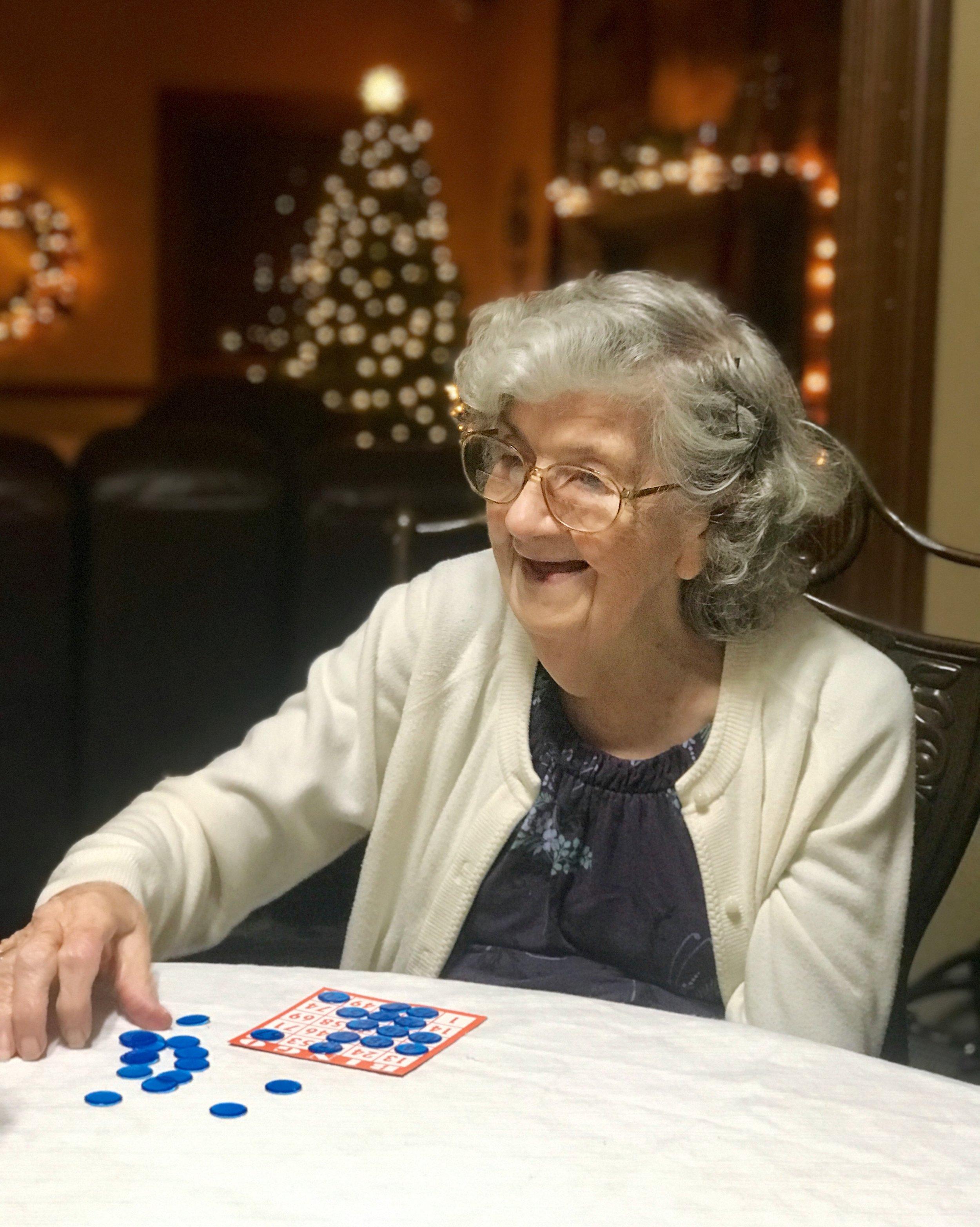 Christmas Grandma Bell | TetherAndFly.com
