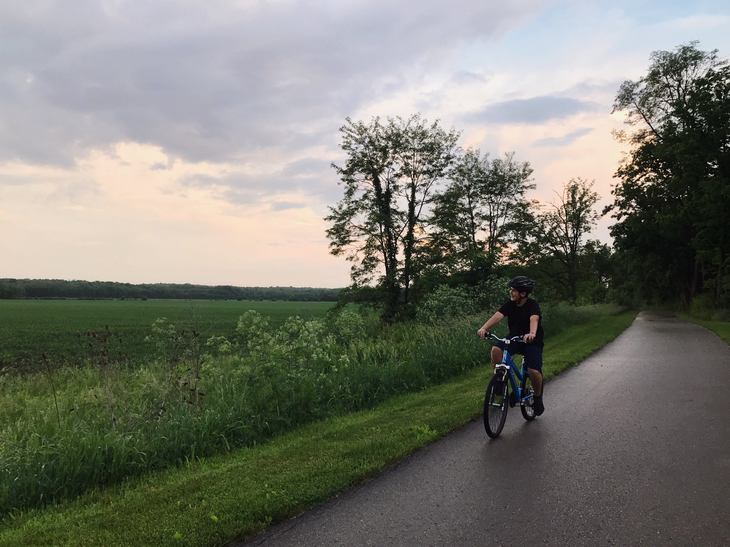 Bike Rides with My Sons | TetherAndFly.com
