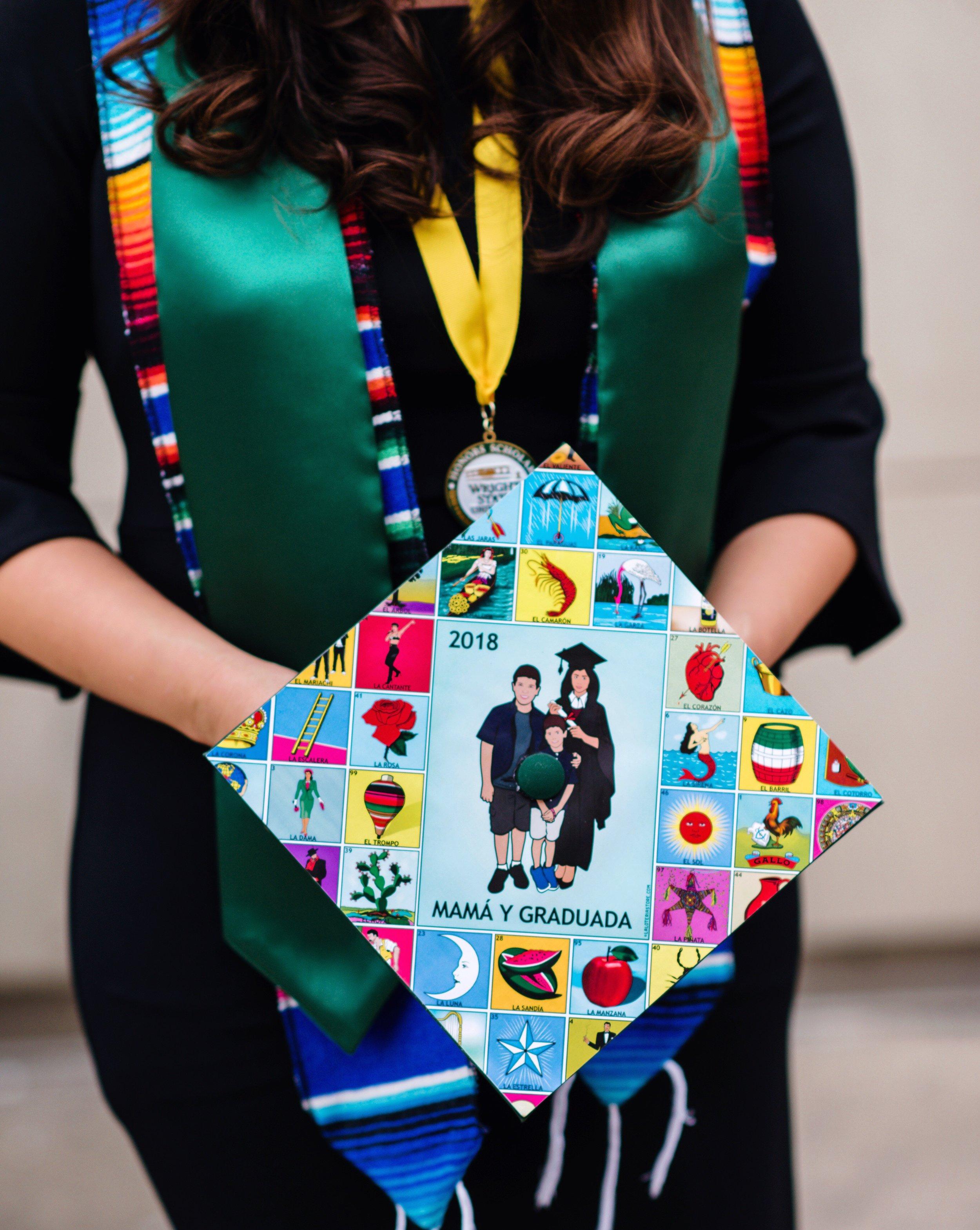 PrintableAndAwesome | Spanish Graduation Cap