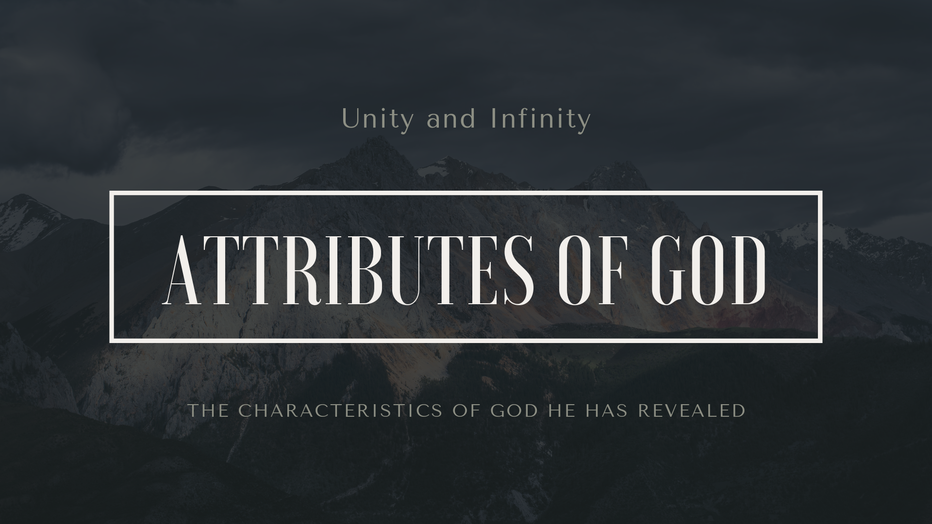 Attributes of God Unity Infinity.png