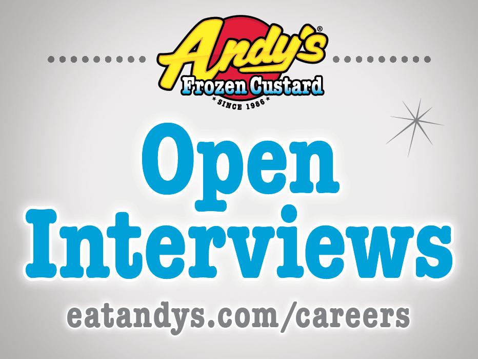 Open Interviews Yard SIgn