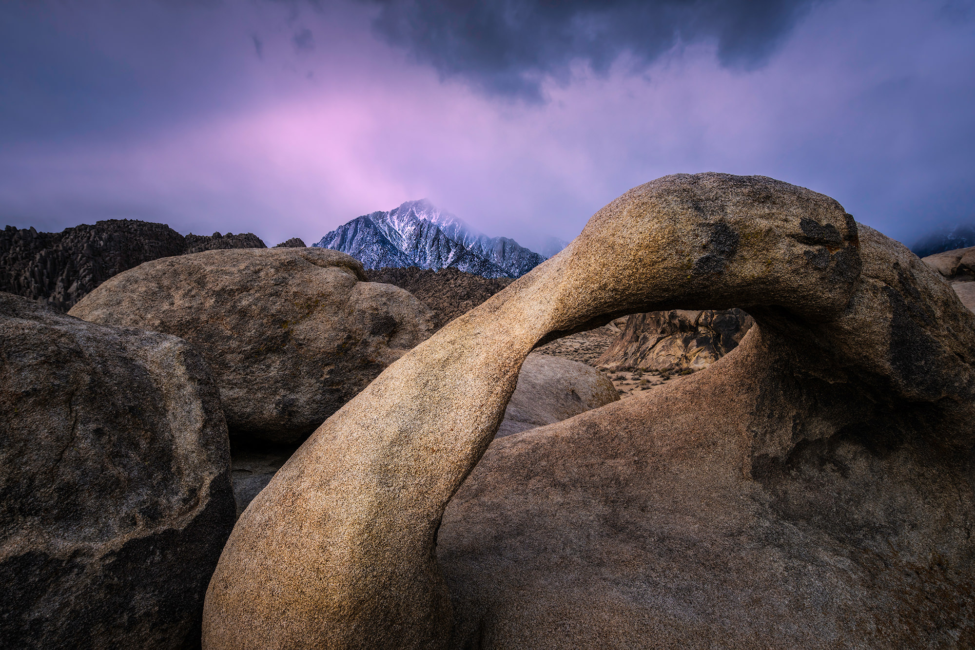 MOBIUS ARCH - Alabama Hills - Lone Pine, CA