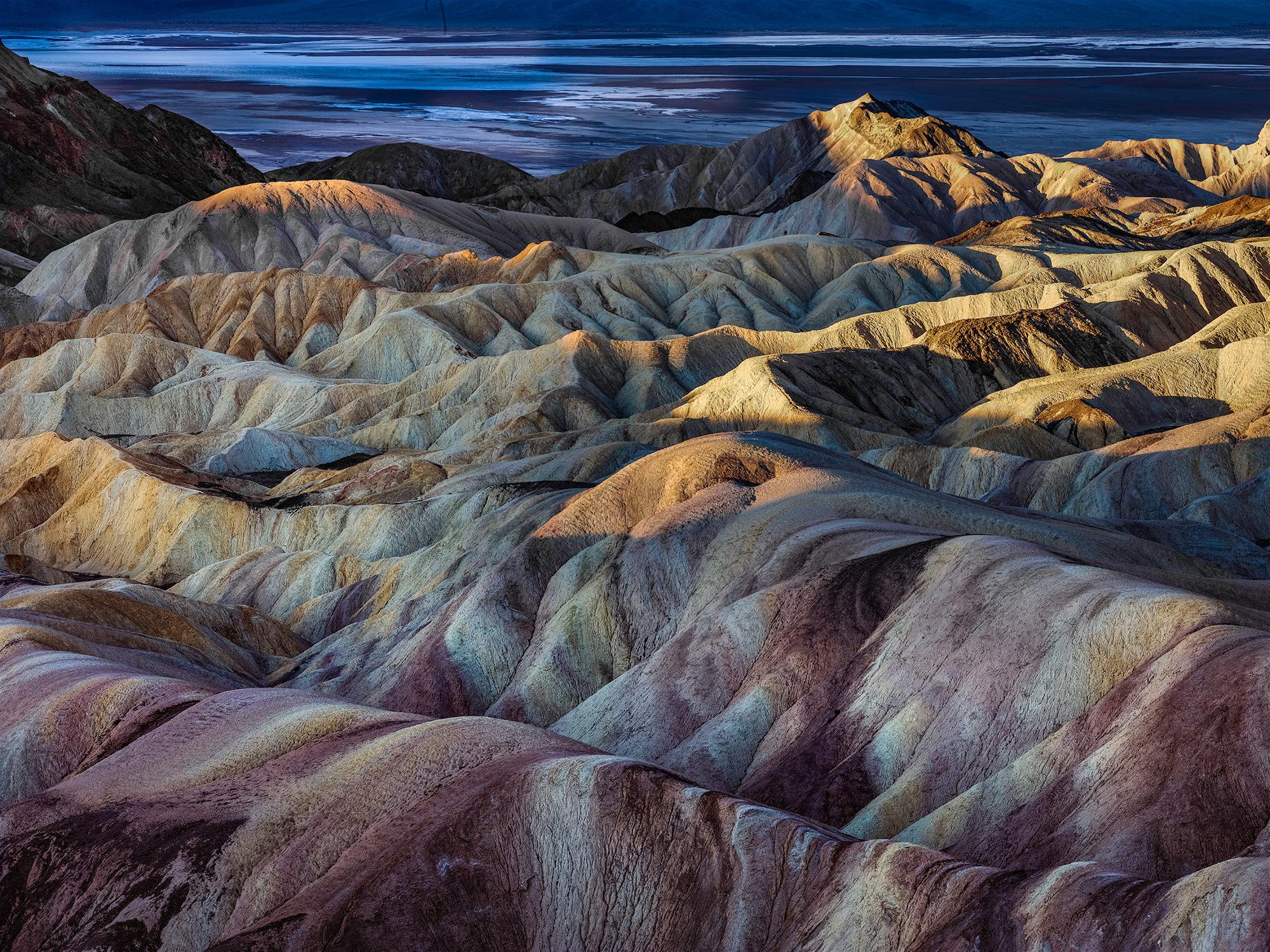 ZABRISKIE POINT - Death Valley, CA