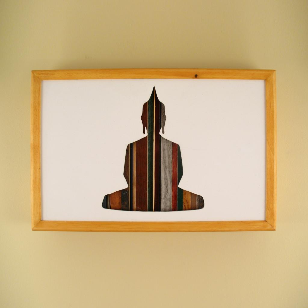 "Buddha - 17"" x 11"" x 2"" - $175.00"