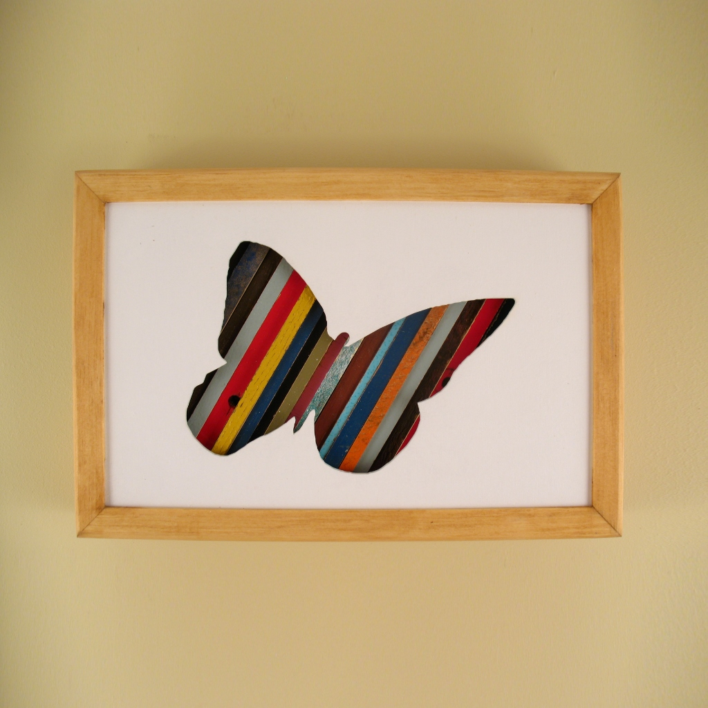 """Butterfly - 12"""" x 8"""" x 2"""" - $115.00"""