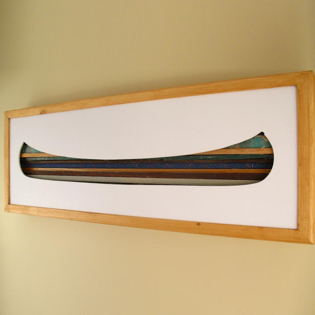 """Canoe - 24"""" x 8"""" x 2"""" - $175.00"""