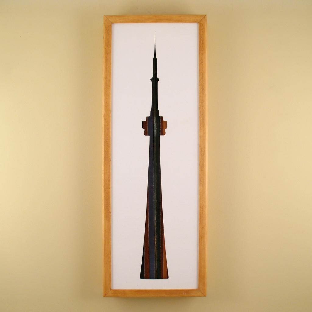 "CN Tower - 24"" x 8"" x 2"" - $175.00"