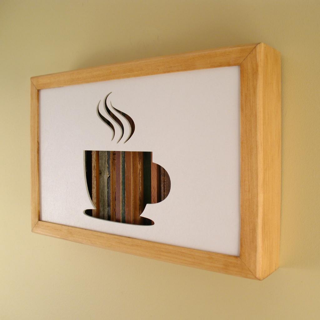 """Coffee Cup - 12"""" x 8"""" x 2"""" - $115.00"""