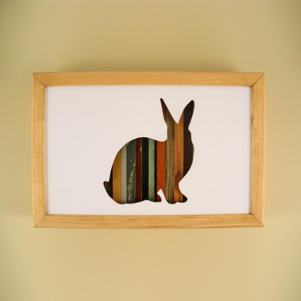 """Rabbit - 12"""" x 8"""" x 2"""" - $115.00"""