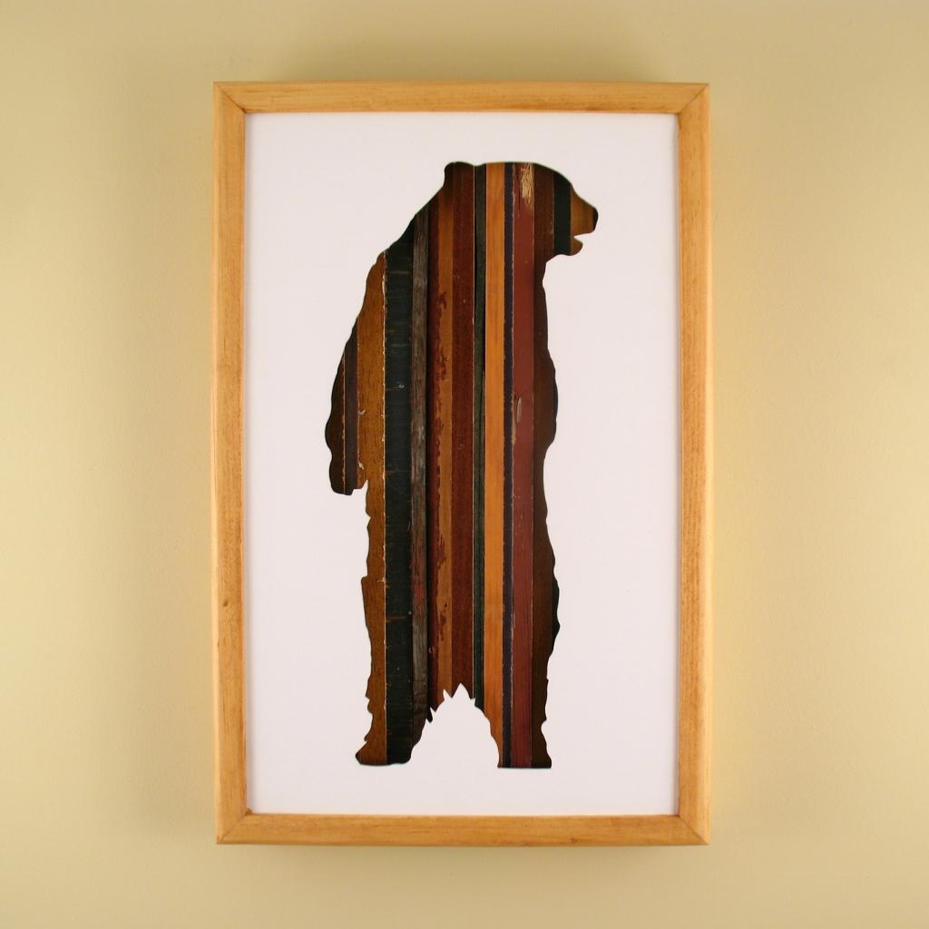 """Standing Bear - 17"""" x 11"""" x 2"""" - $175.00"""