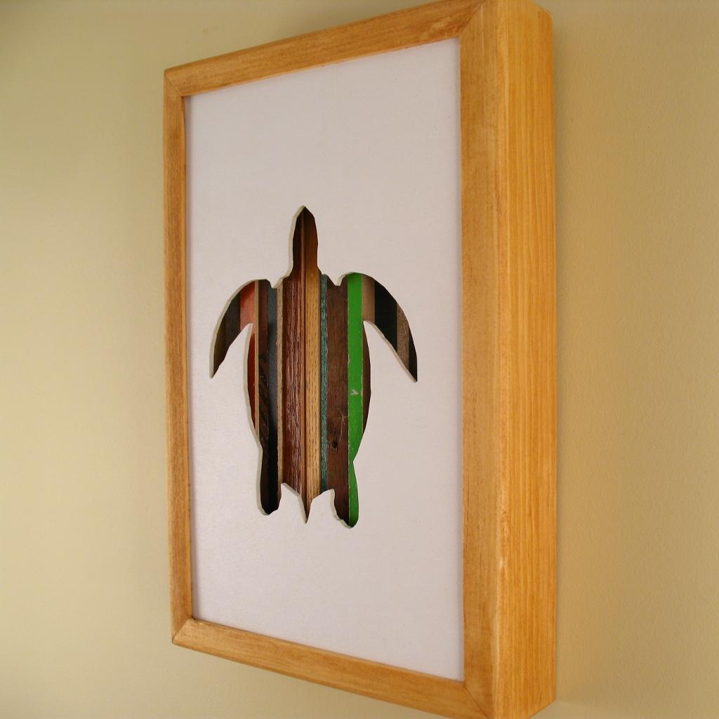 "Turtle - 12"" x 8"" x 2"" - $115.00"