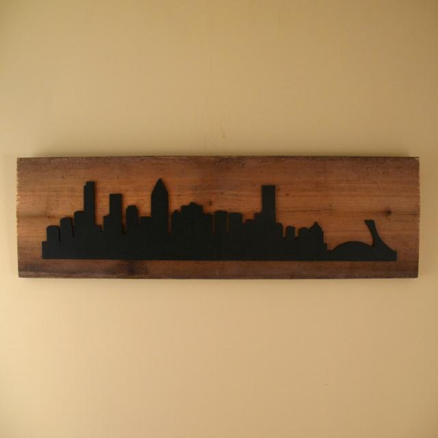 Montreal Skyline - $45.00