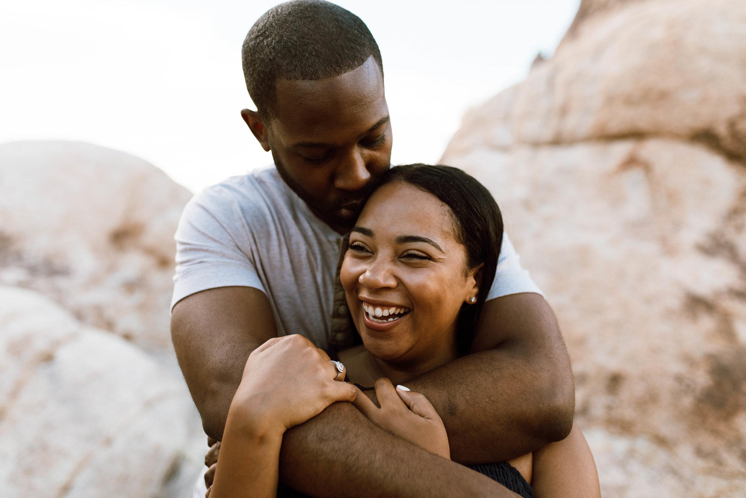 Joshua Tree Desert Couple Photography