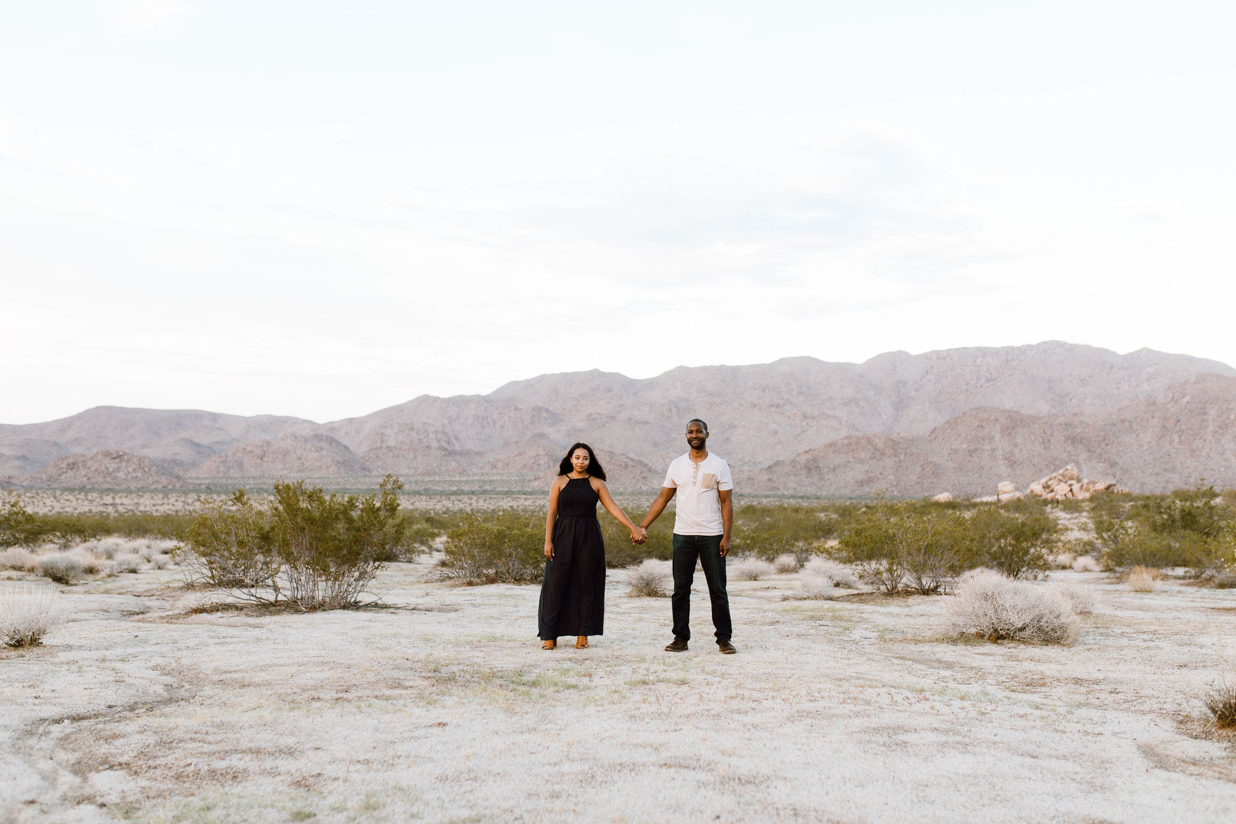 Joshua Tree Desert Couple Photography
