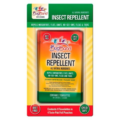 Bug Repellant Wipes