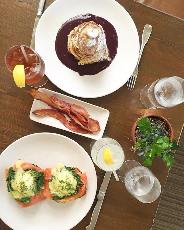 #brunching on a Thursday like 💁🏻 @archetypenapa 🍳