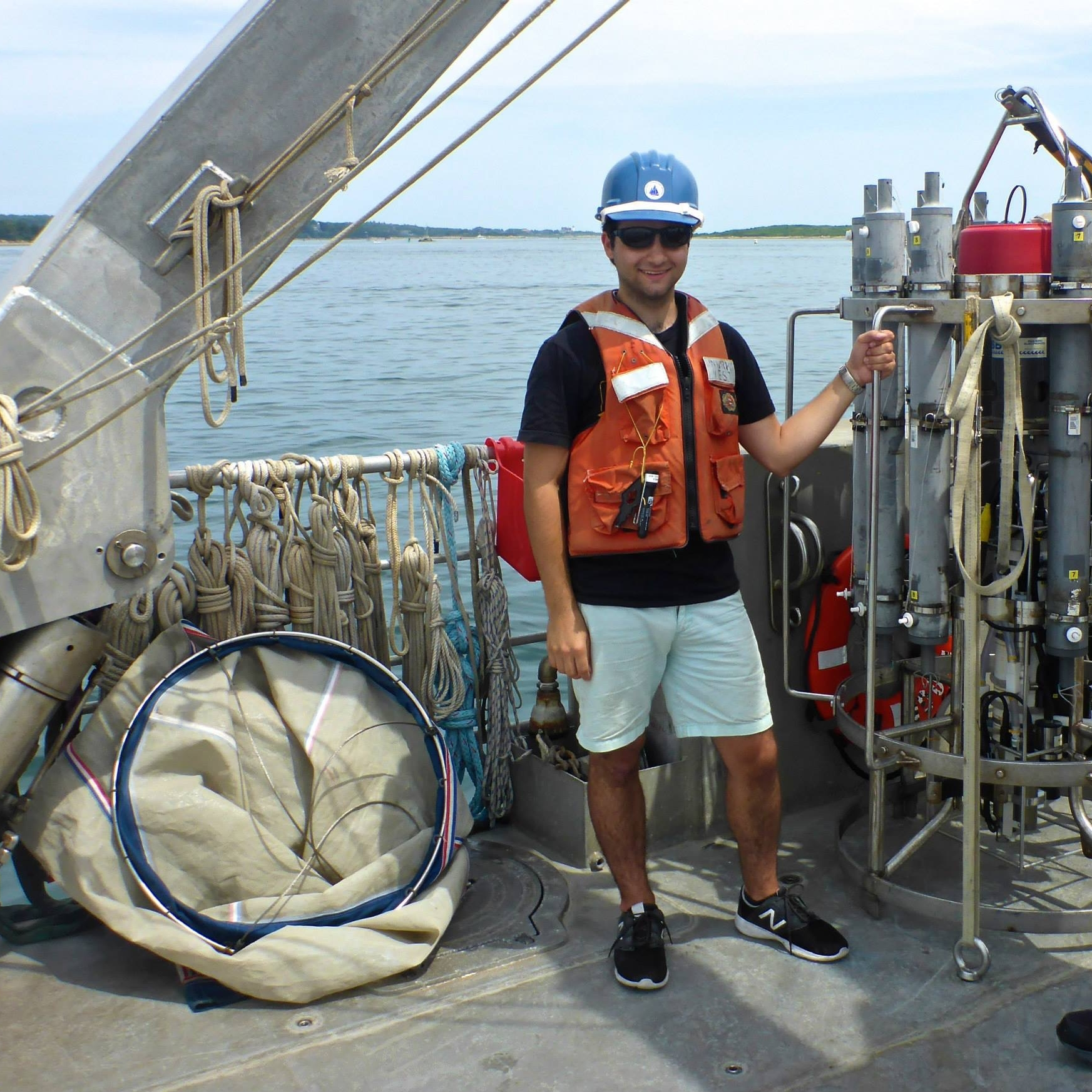 Day cruise on the R/V Tioga.  Photo Credit: Ann Dunham