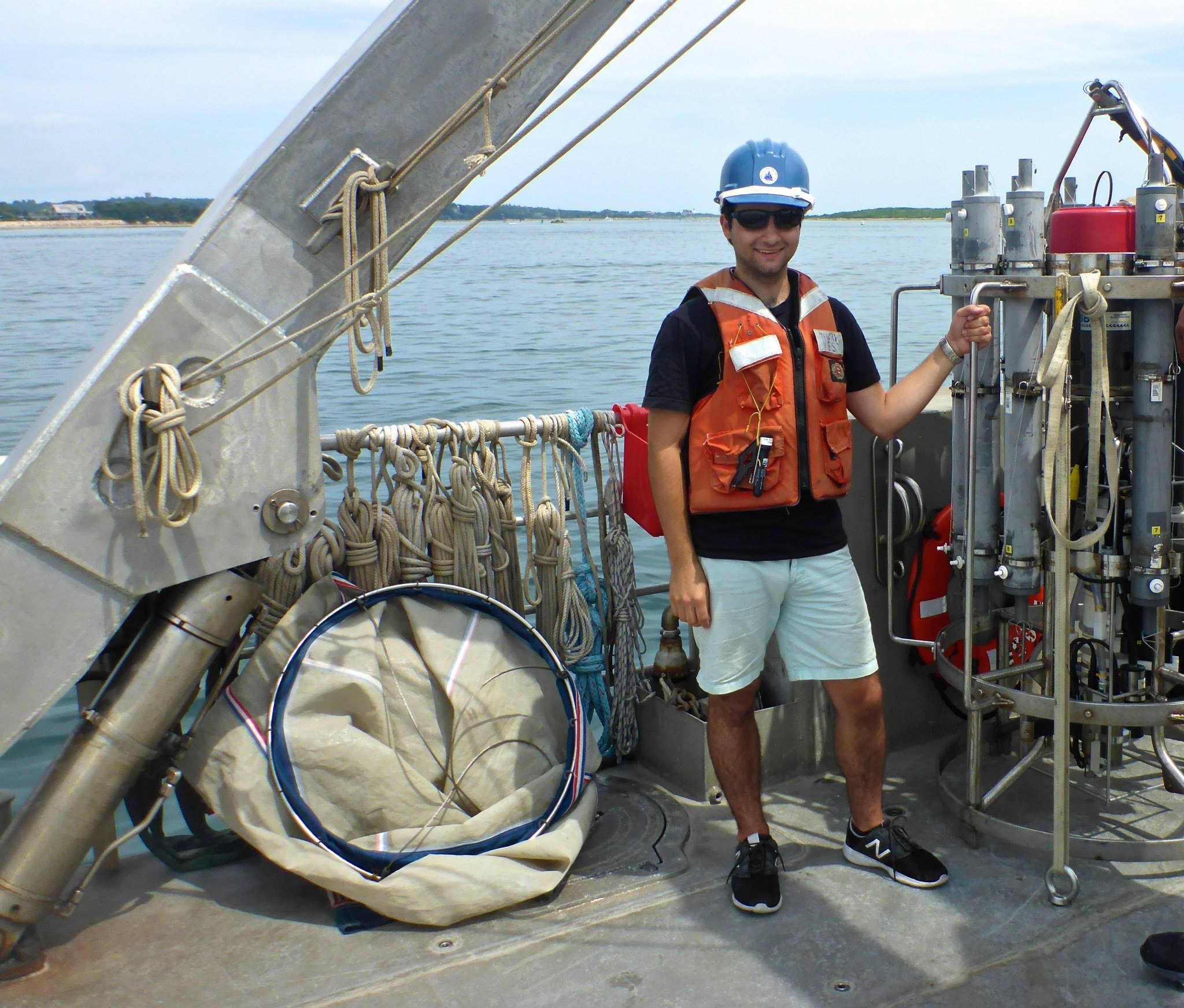 Taken on the R/V Tioga ocean sampling cruise Photo Credit: Ann Dunham