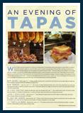 An Evening of Tapas