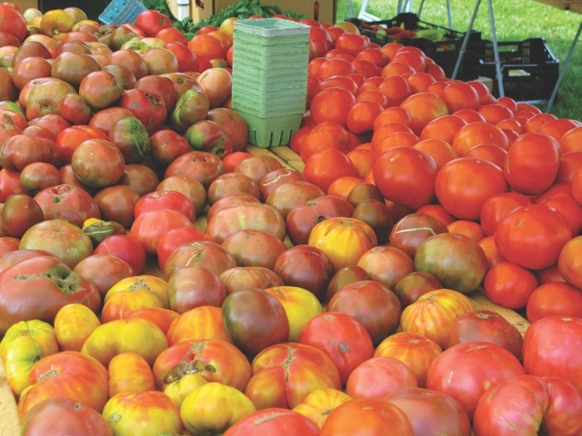 There is nothing--and we mean nothing--like a bushel of tomatoes fresh from the farmers' market.