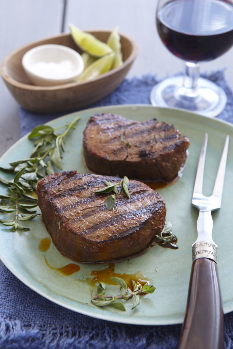 Spanish Rubbed Steak. Photo by Frances Janisch for The Fire Island Cookbook