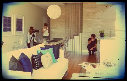 Alexandra Kidd Interior Design Photoshoot