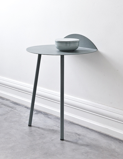Clever sidetablewhere practicality meets clean lines by MENU    Side table'Yeh Wall'      Image 1 via Coté Maison / Image 2   via    Coté Maison  / Image 3   via    AD Magazine  / Image 4   via    AD Magazine  / Image 5   via    AD Magazine  / Image 6   via    Coté Maison  / Image 7   via    Coté Maison  / Image 8   via    AD Magazine