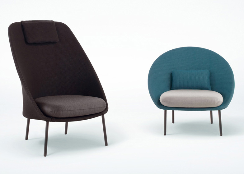 Twin Chairs by Mut Design