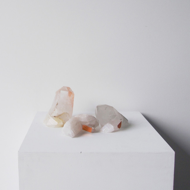 Quartz is the ultimate home healer with incredible  mineral properties . . . Perfect for the one you love on Valentine's Day or indeed any day.