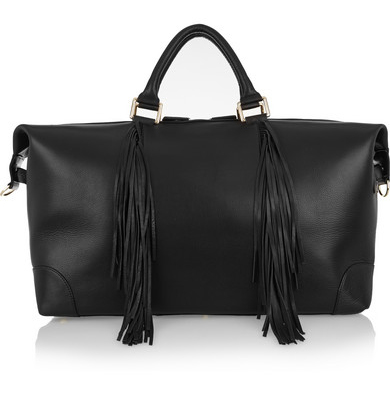 For the spontaneous Summer weekends away, how could you go past a leather weekender by  Eddie Harrop ?