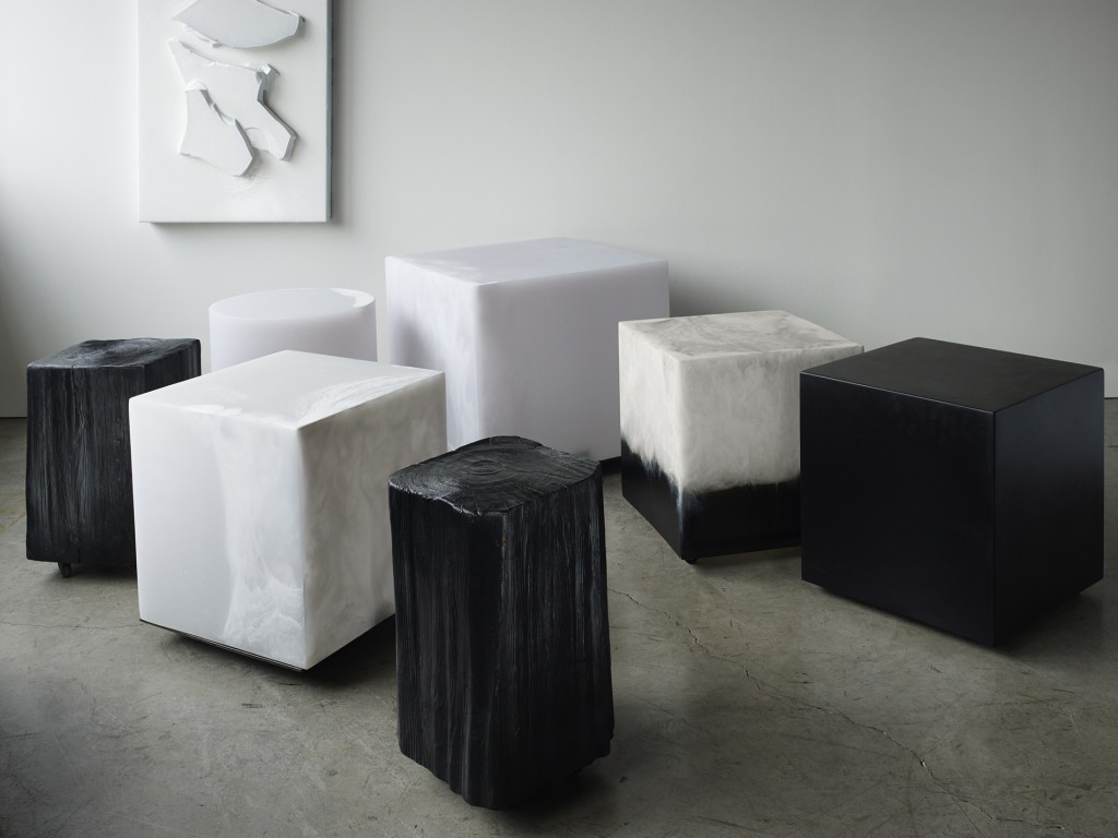 Jess  is digging these natural and sculptural cubes and stools by Vancouver designer  Martha Sturdy . They are not only functional but real pieces of art.
