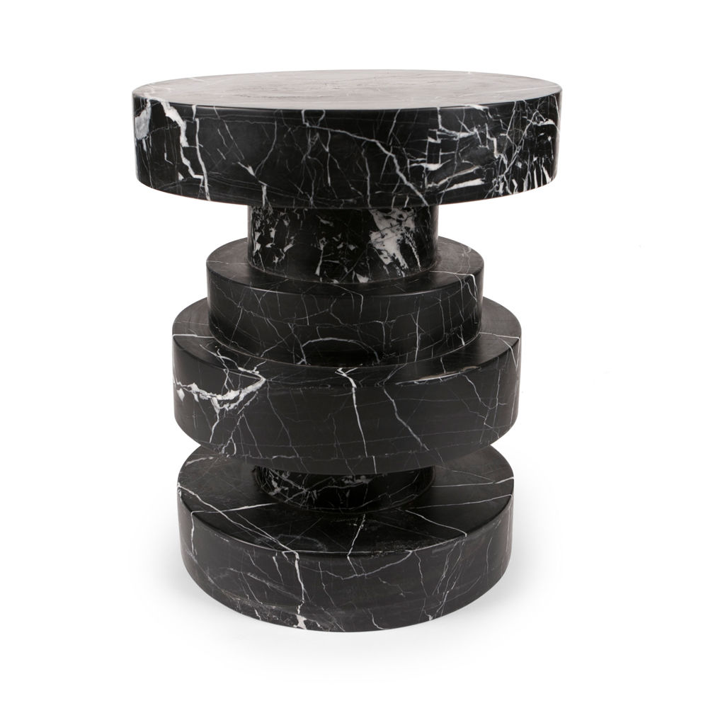 The Kelly Wearstler 'Apollo' Stool available at Becker Minty.