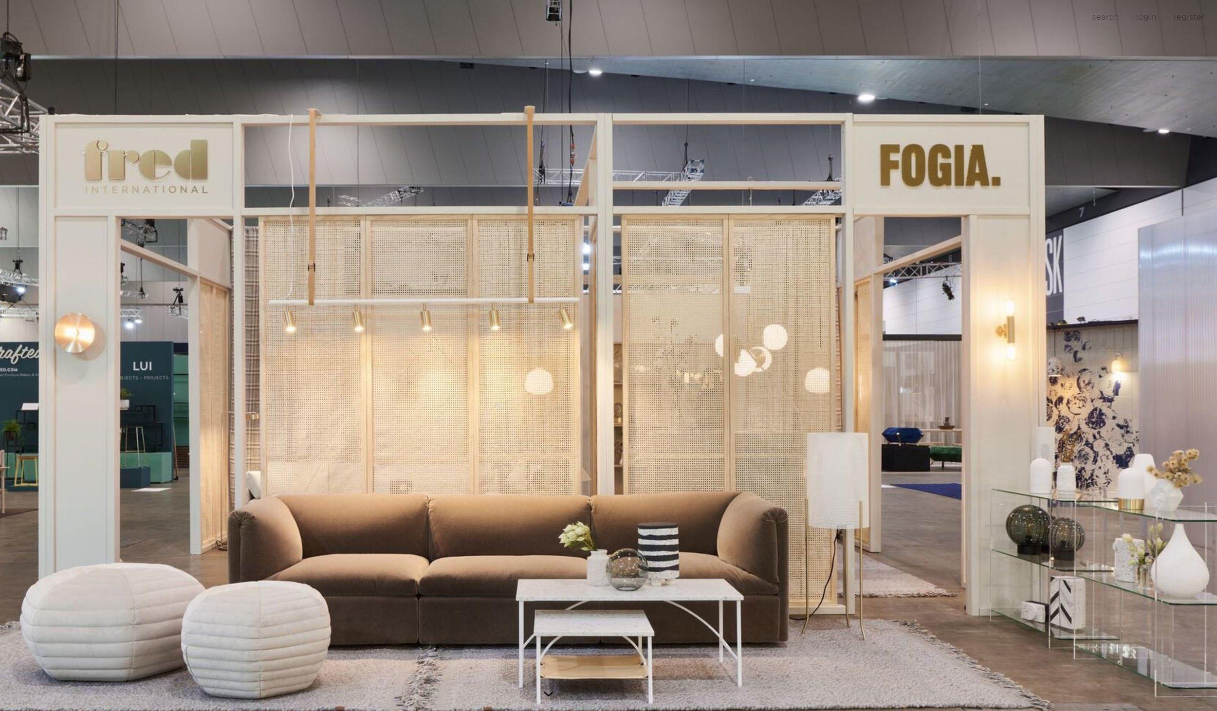As one of Australia's leading distributors of contemporary Scandinavian furniture we adore absolutely everything on display at the  Fred International  stand!