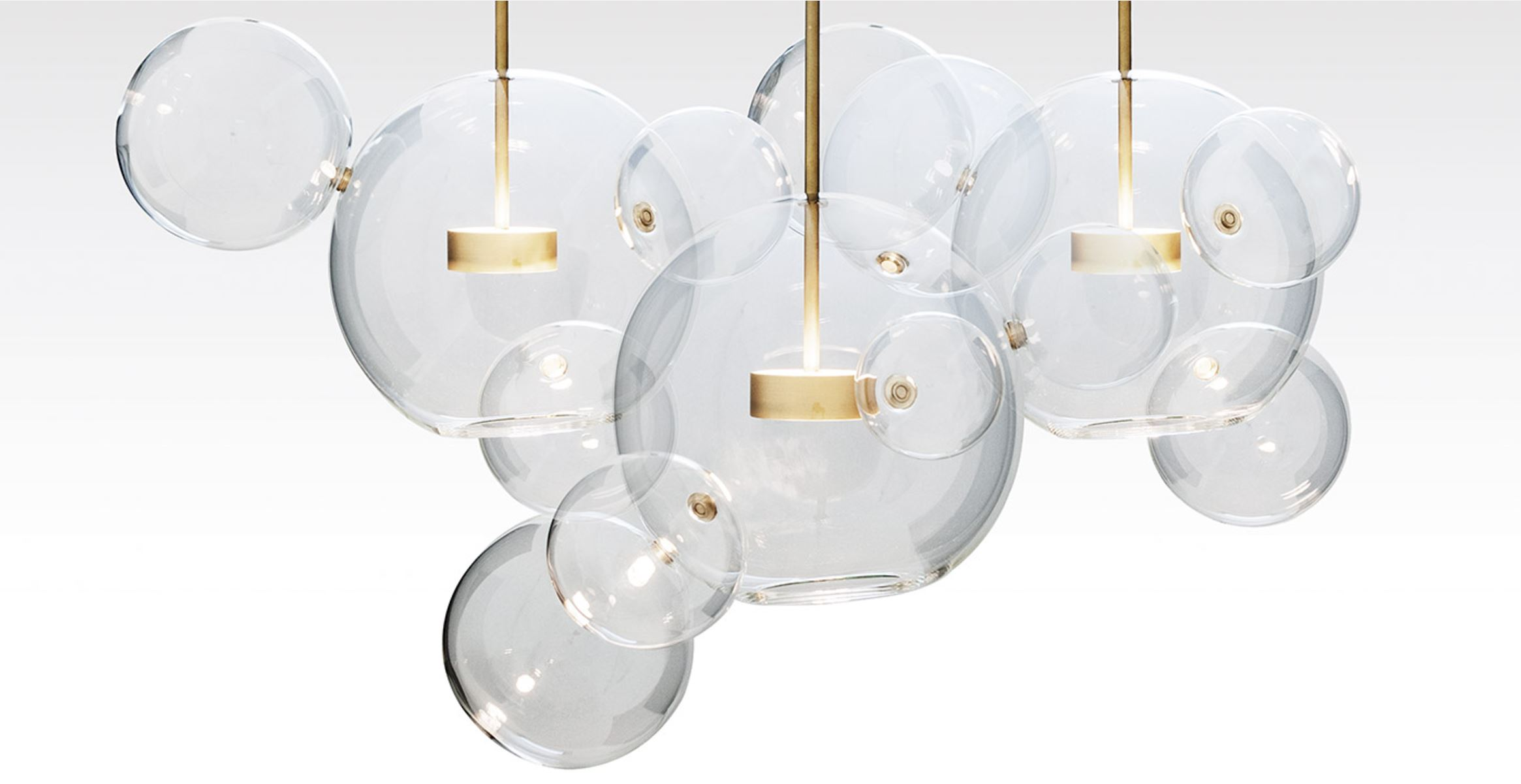 Giopato and Coombes are a dynamic husband and wife duo, creating inspiring pieces including one of our favourites - the Bolle pendant - inspired by soap bubbles!