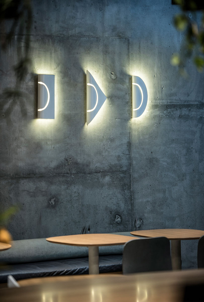 Marz Designs  released their new 'Furl' wall lights in collaboration with designer Christel Hadibawawa from  CHRISTEL H . The rolled brass or powdercoated metal make for a unique wall-mounted lighting effect.