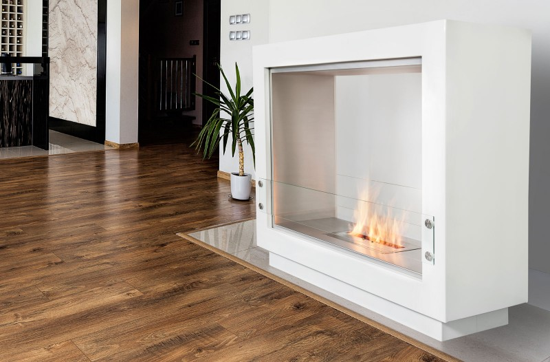 There is no better way to warm up your home than with a  Designer Fire . For homes without traditional fireplaces, this is the perfect solution to create the hearth and the warmth in your home.